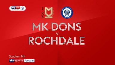 MK Dons 2-1 Rochdale