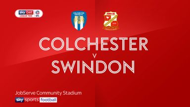 Colchester 3-1 Swindon