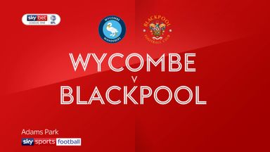 Wycombe 2-1 Blackpool