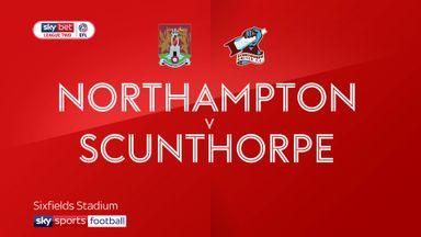 Northampton 3-0 Scunthorpe
