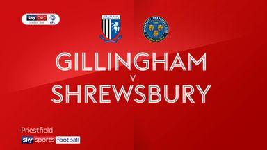 Gillingham 2-0 Shrewsbury