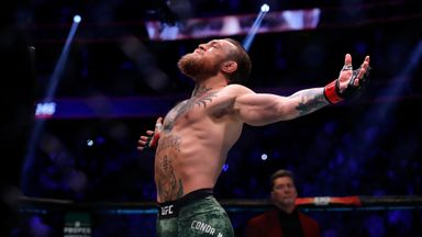 McGregor's memorable moments
