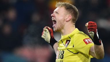 Ramsdale returns to Bournemouth training