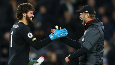 Klopp: Alisson is exceeding expectations