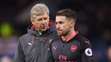 Ramsey: I felt wanted by Arsene and Arsenal