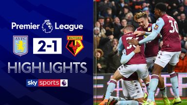 Last-gasp winner lifts Villa out of drop zone