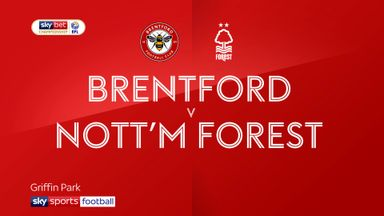 Brentford 0-1 Nottingham Forest