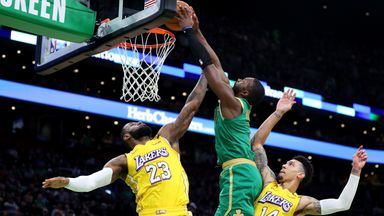 Celtics-Lakers live on Sky Sports Arena