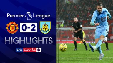 Burnley stun Man Utd at Old Trafford
