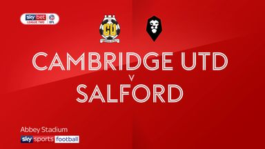 Cambridge Utd 0-4 Salford