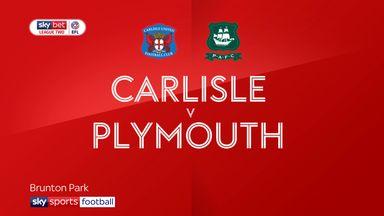 Carlisle 0-3 Plymouth