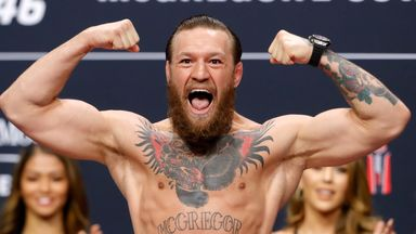 McGregor, Cerrone weigh-in