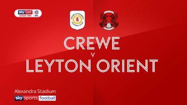 Crewe 2-0 Leyton Orient