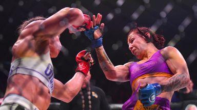 Cyborg's historic TKO