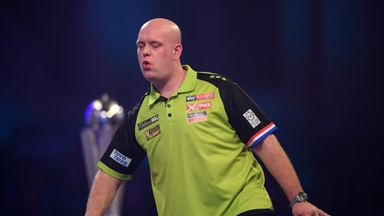 MVG one away from nine-darter