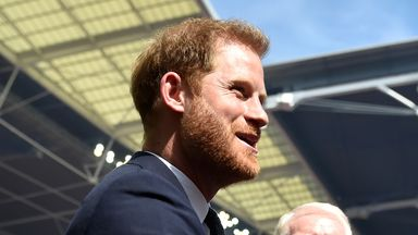 Duke of Sussex hosting RLWC draw
