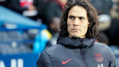 Lampard: Cavani's a great player