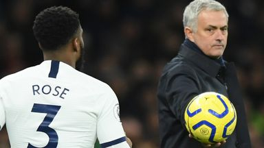 Mourinho denies reports of Rose bust-up