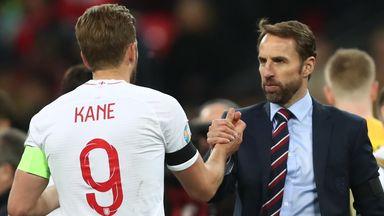 Southgate hopeful on Kane, Rashford fitness