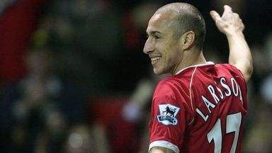Larsson: Leaving Man Utd my only regret