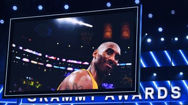 Grammys honour Bryant: 'Tonight is for Kobe'