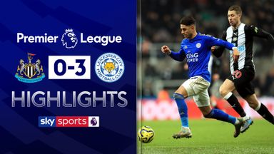 Leicester ease past 10-man Newcastle