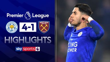 Ruthless Leicester see off West Ham