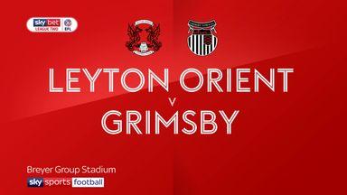 Leyton Orient 1-1 Grimsby