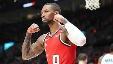 Lillard erupts for 50 points over Pacers
