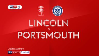 Lincoln 0-2 Portsmouth