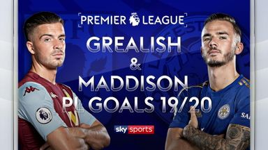 Grealish, Maddison: PL Goals 2019/20
