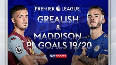 Grealish, Maddison: PL Goals 2019/20