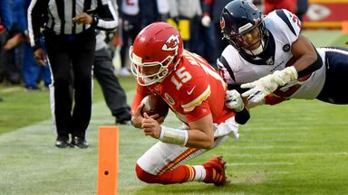 Mahomes performs quick Chiefs drive