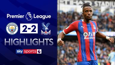 Late OG gives Palace draw at City