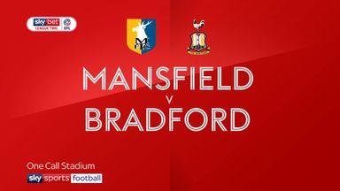 Mansfield 3-0 Bradford