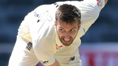 Is Wood England's quickest seamer?