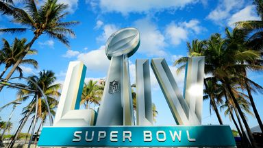 Miami prepares for Super Bowl party