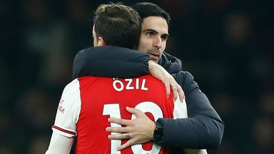 'Ozil perfect for Arteta at Arsenal'