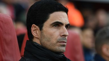 Arteta tests positive for coronavirus