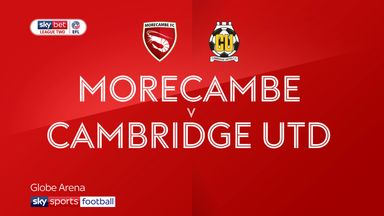 Morecambe 1-1 Cambridge