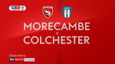 Morecambe 1-1 Colchester