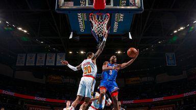 NBA Wk14: Hawks 111-140 Thunder