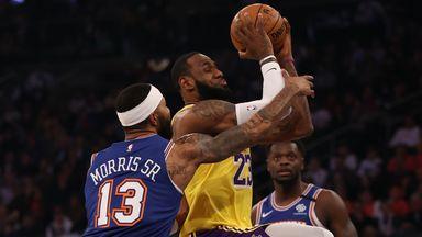 NBA Wk14: Lakers 100-92 Knicks