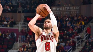 LaVine drops 44 in Bulls win