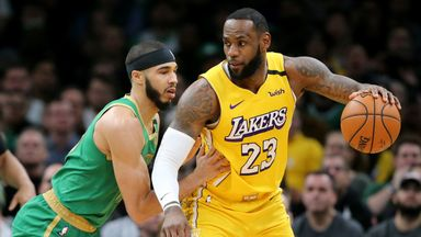 NBA Sundays: Celtics @ Lakers