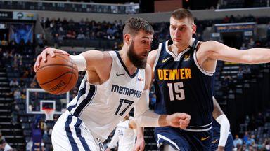 NBA Wk15: Nuggets 96-104 Grizzlies
