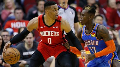 NBA Wk14: Thunder 112-107 Rockets