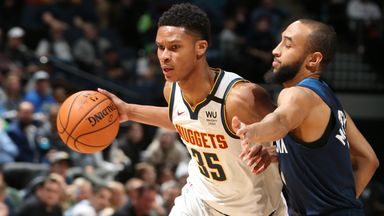 NBA Wk14: Nuggets 107-100 Timberwolves