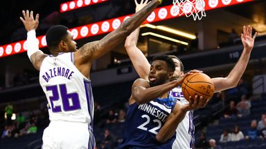 NBA Wk15: Kings 133-129 Timberwolves (OT)