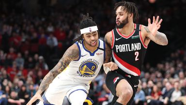 NBA Wk14: Warriors 124-129 Trail Blazers (OT)